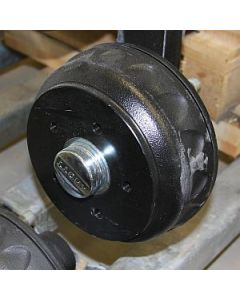 Axel Kpl KNOTT 1350 kg cc 1200 Långt utstick 5 håls