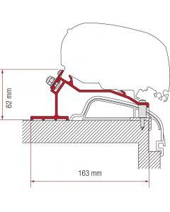 Adapter FIAMMA 4 delar